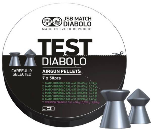 Bilde av JSB Match Testpakke til Pistol - 4.5mm - 350stk