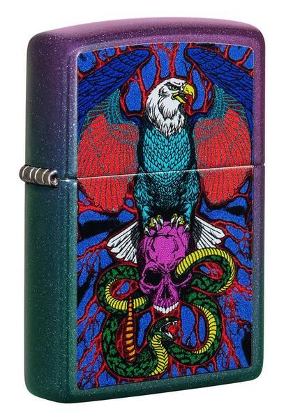 Bilde av Zippo - Eagle, Snake, Skull Design - Lighter