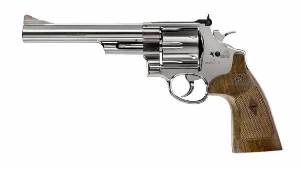 Bilde av Smith & Wesson - M29 6.5 CO2 Drevet Softgunrevolver - Blå Polert