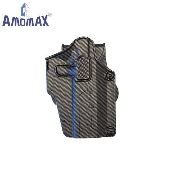 Bilde av Amomax - Per-Fit QR Universal Hylster - Karbon/Karbon