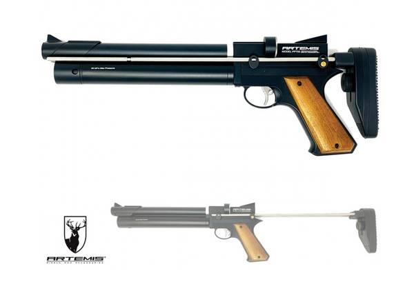 Bilde av Artemis - PP750 PCP Drevet Luftpistol med Kolbe - 4.5mm