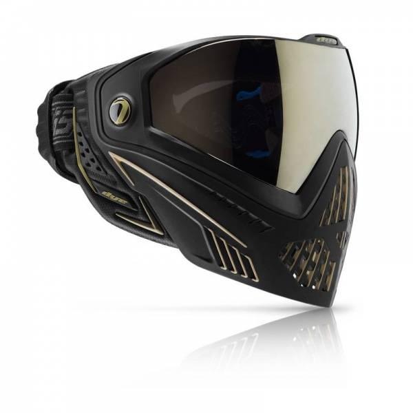 Bilde av Dye i5 - Paintball Maske med Dobbeltglass - Onyx Gold