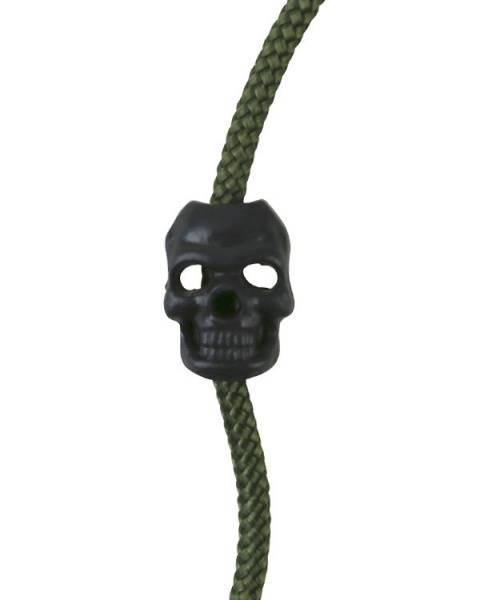 Bilde av Cord Stoppers Skull - Sort - 10stk
