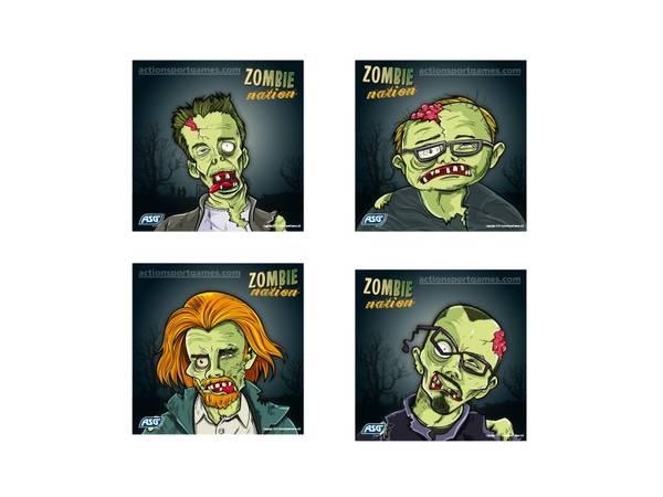 Bilde av Blinker 14cm x 14cm - Zombie Style - 100stk