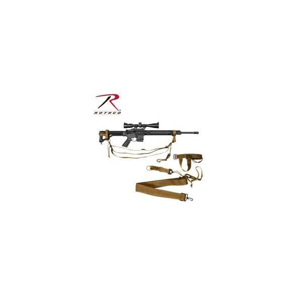 Bilde av Military 3 Point Rifle Sling - Coyote Tan