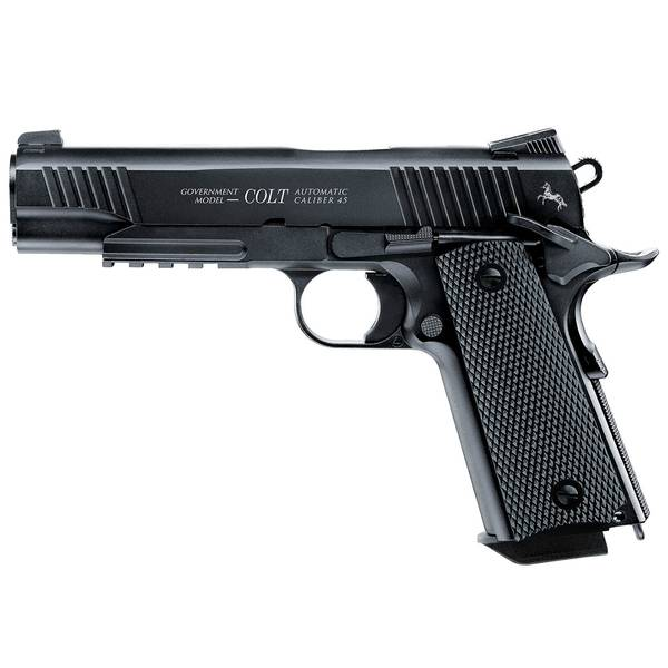 Bilde av Colt M45 CQBP - Sort - 4.5mm BB