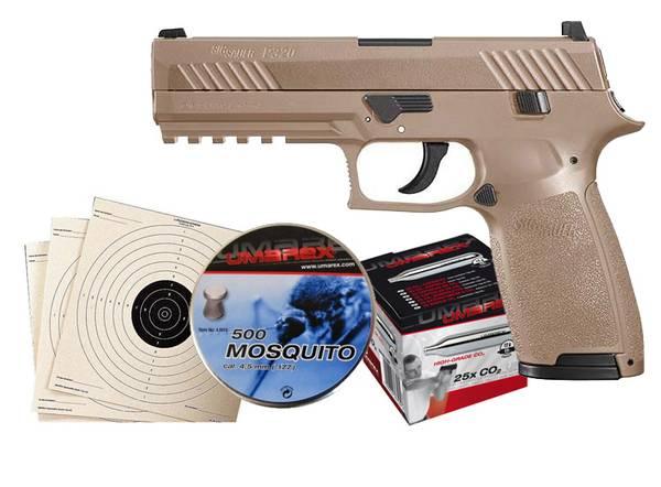 Bilde av Sig Sauer P320 Luftpistol Pakkesett med alt du trenger!