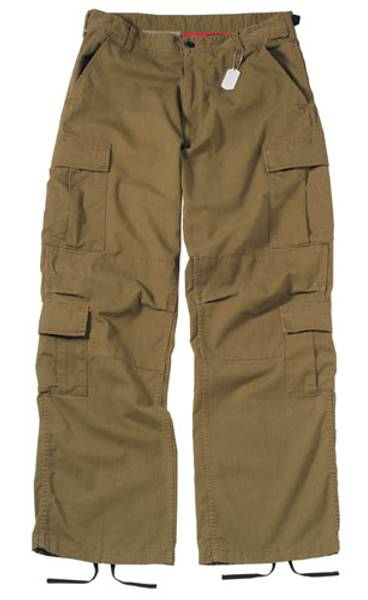 Bilde av Vintage Russet  Brown Bukse