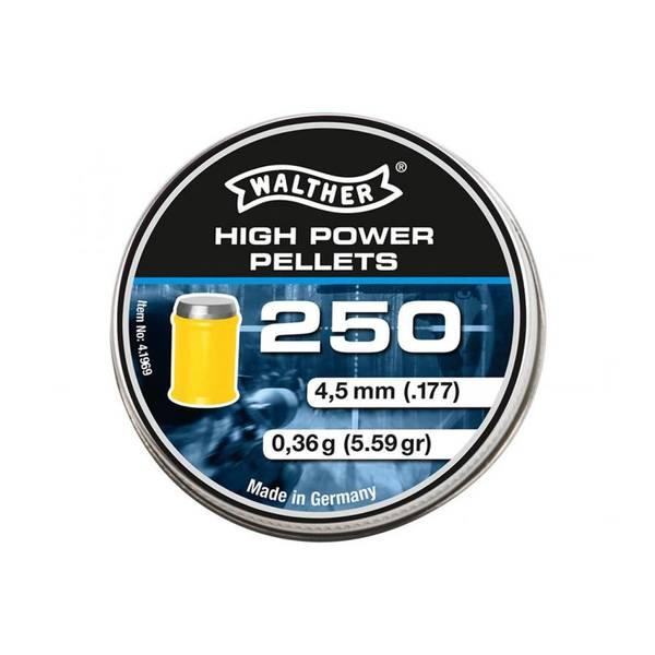 Bilde av Walther High Power Pellets - 1250stk