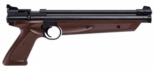 Bilde av Crosman American Classic Pumpe 4.5mm Luftpistol - Brun