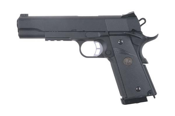 Bilde av KJW - 1911 MEU (KP-07) Luftpistol med Blowback - 4.5mm BB