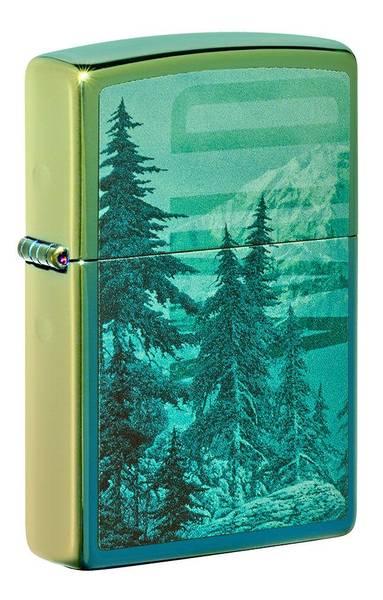 Bilde av Zippo - Fjell og Skog Motiv - Lighter