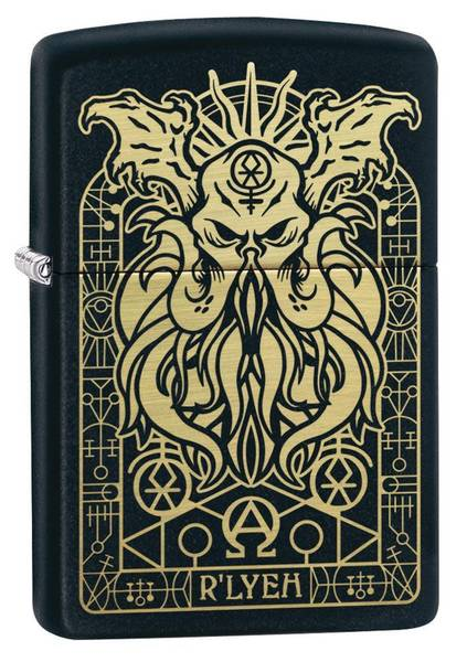 Bilde av Zippo - H.P. Lovecraft Monster Motiv - Lighter
