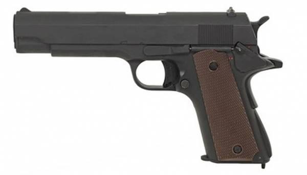 Bilde av Colt 1911 - Elektrisk Airsoft Pistol med Mosfet og LiPo - Svart