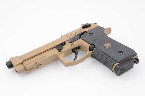 Bilde av WE - M9A1 USMC Style Gassdrevet Softgunpistol - Tan