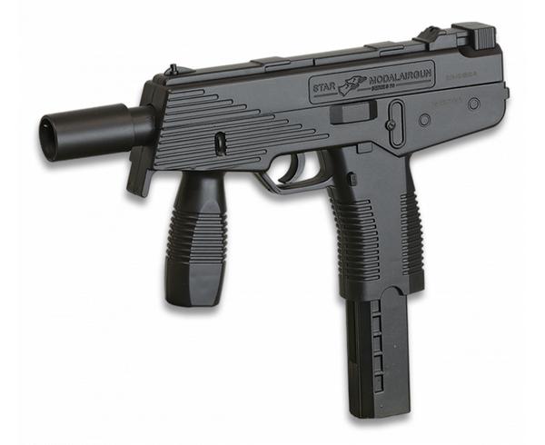 Bilde av DE - Mp9 Springer Softgun Pistol - Svart