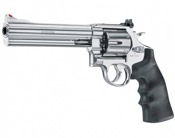 Bilde av S&W - 629-6.5 CO2 Drevet - 4.5mm BB Revolver - Sølv