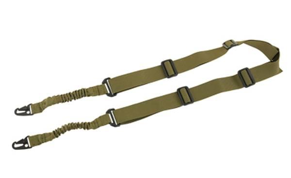 Bilde av Amomax - Tactical Two Point Sling - HK Style Clip - Olive