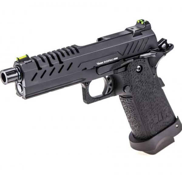 Bilde av Vorsk - Hi-Capa 4.3 Gassdrevet Softgunpistol - Svart