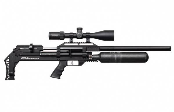 Bilde av FX Maverick Sniper PCP Luftgevær Svart - 6.35mm (Regpliktig)