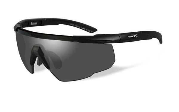Bilde av Wiley X - Saber Advanced Briller - Grey/Clear - Svart