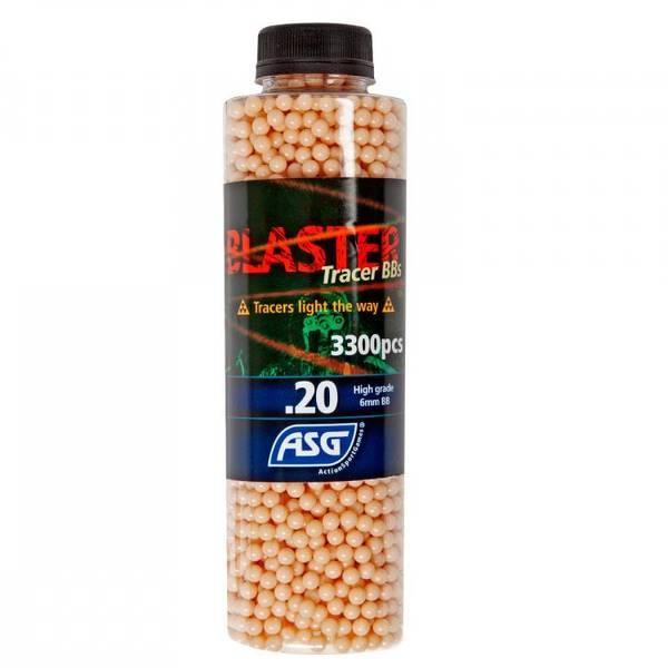 Bilde av Blaster Tracer 0.20g Røde Softgun Kuler - 3300stk