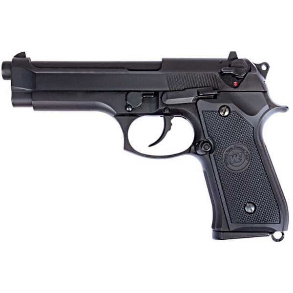 Bilde av WE - New M92 Gassdrevet Softgun med Blowback - Svart