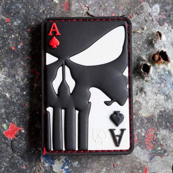 Bilde av Patch - Punisher Ace of Spades Rubber