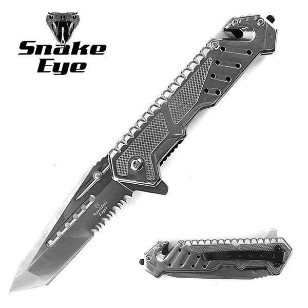 Bilde av SE - Taktisk Foldekniv med Beltekutter og Glassknuser
