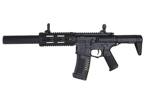 Bilde av Amoeba - M4 Honey Badger Elektrisk Softgun Rifle - Svart