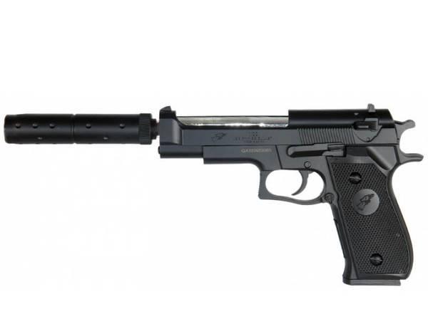 Bilde av DE - M92 Springer Softgun Pistol - Svart